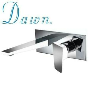 NEW* DAWN BATHROOM FAUCET AB41 1472CPW 236256351 WALL MOUNTED MIRRORED POLISHED CHROME