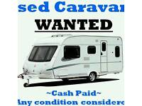 ££ Looking for touring caravan camper or motorhome (damp effective vans bought ) top prices paid