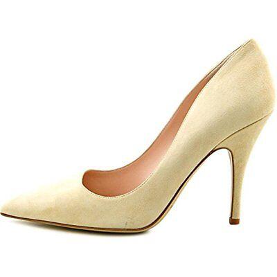 Kate Spade Licorice Too Women US Size 4 Nude Suede Pump Heels