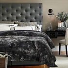 King King Gray Blankets & Throws