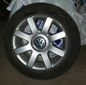 4 VW Mag Rims  205/55/R16  (91H) & 4 GT Radial Summer Tires
