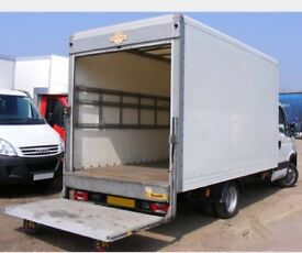 MAN AND LUTON VAN REMOVAL COURIER SAME DAY DELIVERY SERVICE FLAT HOUSE COMMERCIAL MOVING TRUCK HIRE