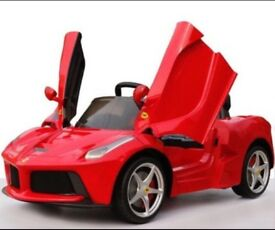 Eid offer till the 18th of June 2018. Licensed LA FERRARI 12v ride on car with (leeds) only £220