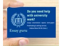 Need help with uni work?