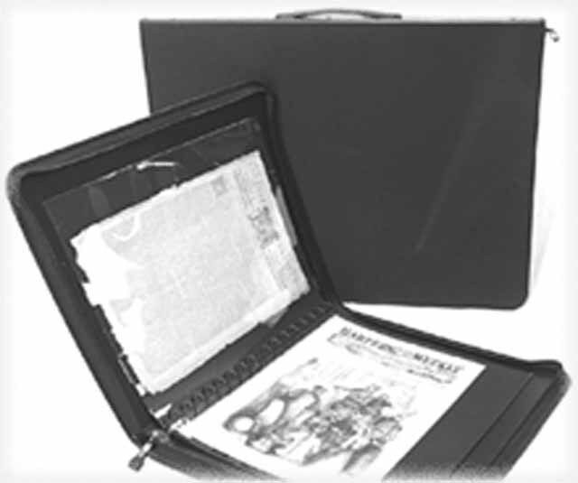 "Storage PRESENTATION CASE - 17""x14"" Archival & Acid-Free - Great for Newspapers!"
