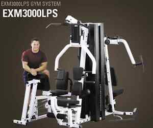 Body Solid GYM SYSTEM (EXM3000LPS) **perfect condition**