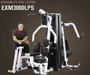 Body Solid whole GYM SYSTEM (EXM3000LPS) **PERFECT CONDITION** Peterborough Peterborough Area image 1