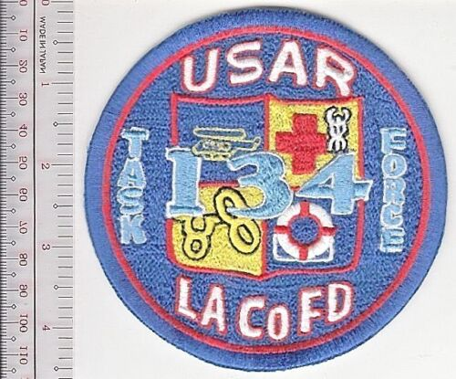 Los Angeles County LACoFD Station 134 Urban Search Rescue Task Force USAR Califo