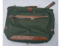 Green Folding Suitcase / Suit Carrier