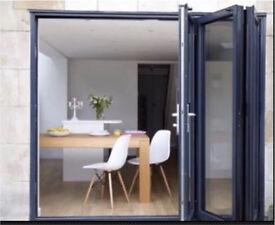 3 Door Bi Folding Door UNGLAZED