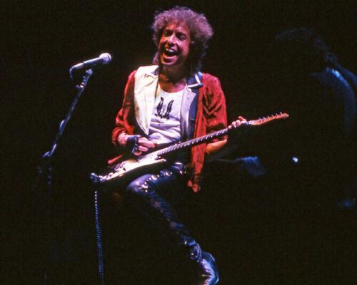 1986 American Singer BOB DYLAN Glossy 8x10 Photo Music Print Guitar Poster