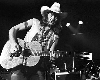 American Country Singer WILLIE NELSON Glossy 8x10 Photo Music Print Poster