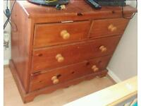Pine chest-of-draw
