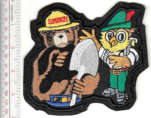 Smokey the Bear & Woodsy Owl Teaming up to Prevent Forest Fires &