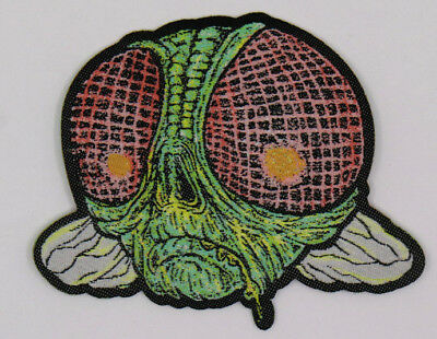 PATCH - Dead FLY - HORROR, monster, zombie, creepy -  Woven / die cut / iron on