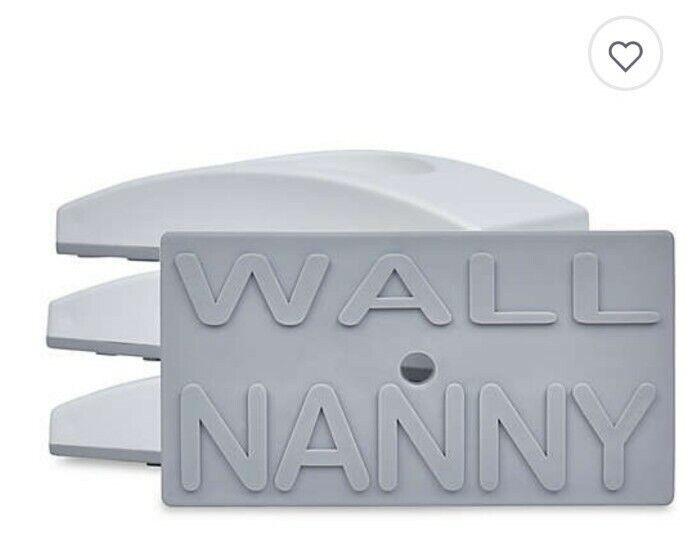 Wall Nanny Baby Gate Wall Protectors 4 Pack White