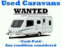 I am looking for touring caravan