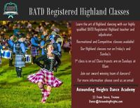 BATD Highland Classes in Trenton