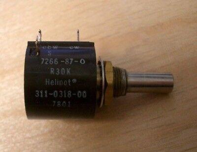 Helipot 30k Multi-turn Pot 14 Shaft 311-0318-00
