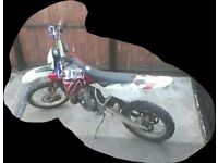 For sale husqvarna wr250cc with log book good con cud do with polish
