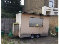 Food trailer / Catering trailer / Street food trailer / Mobile catering trailer 10x7 ft