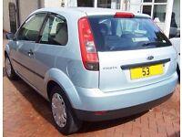 FSH 53 Ford Fiesta 1.2 Long Mot Cheap Insurance Low Mileage 2 Owners like Astra corsa golf corolla