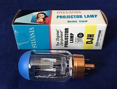 Vintage Sylvania Djh Projector Lamp Bulb 120v 500w 200 Hrs Nos Nib