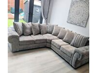 🔥SOFA ON SALE WITH ONE YEAR WARRENTY with FREE DELIVERY🔥BRAND NEW VERONA CORNER SOFA