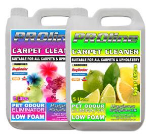Carpet Shampoo Cleaner,10ltr Citrus + Floral, Vax, Rugdoctor, Karcher, Prochem.