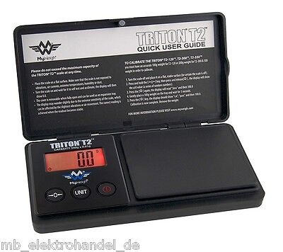 MyWeigh Triton T2-550 Feinwaage 550g / 0,1g Digitalwaage Münzwaage Goldwaage 0,1