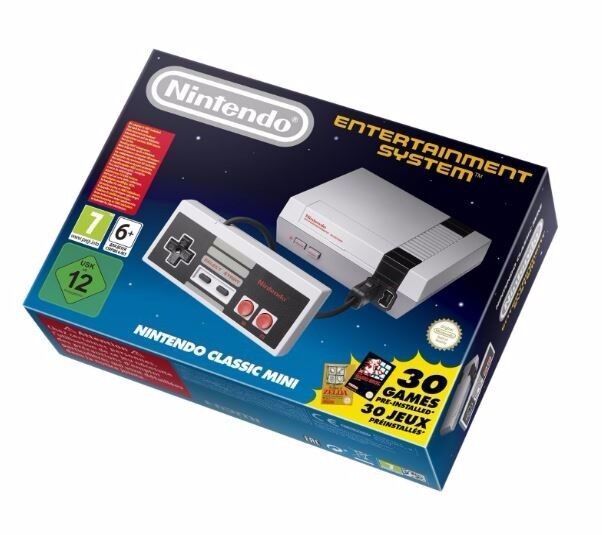 Genuine Nintendo Entertainment System: NES Mini Classic Edition Console