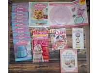 Cake baking books and magazines