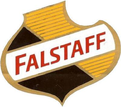 FALSTAFF BEER SHIELD VINYL DECAL STICKER (A3846) 4 INCH