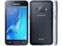 Brand New Samsung Galaxy Black J1 Duos 8GB Dual Micro Sim 5MP Camera Android Smartphone Unlocked