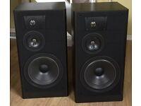 JBL LX55 3 WAY SPEAKERS, RARE IN UK (1987-1992)