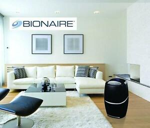 USED BIONAIRE DEHUMIDIFIER BLACK 42 PINT  PureQuiet 103060423