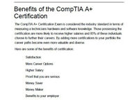 Study partner for CompTIA A+ Certification