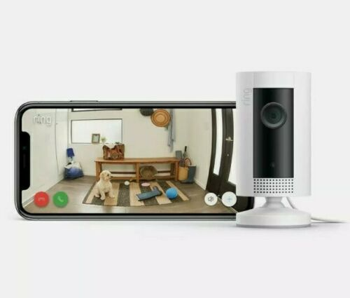 Ring Indoor Cam, Compact Plug-In HD Security Camera With Two-way Talk, Simple Se - $48.99