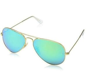 b6b54405883cce NEW Ray-Ban RB3025 004 78 Aviator Metal Sunglasses Condtion  New