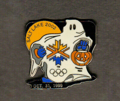 Halloween Salt Lake City ( A ghostly Halloween pin - Salt Lake City Winter)