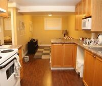 HIGH END apartment near downtown- in suite laundry!