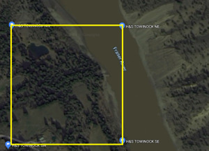 Placer Gold Claim on Fraser River - Towinock Area