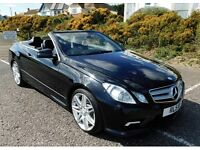 Mercedes E350 CDI Convertible- Very High Spec