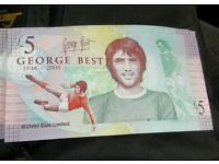 George best fivers 4 off