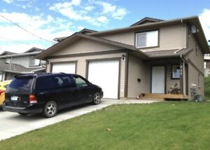 NEWER 3 BEDROOM DUPLEX W/GARAGE & FENCED YD, FRANK ROSS AREA