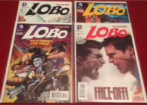 DC COMICS LOBO #1,2,3,4, NEW 52