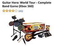 Guitar hero world tour Xbox