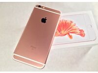 Rose gold iPhone 6s for sale