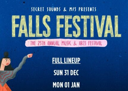 x3 2day Byron Falls Festival tix with 7days accomm