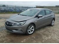Vauxhall astra 2017 damaged with most parts to repair must see only 2082 miles 0 owners